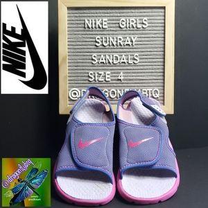 EUC Nike Sunray Adjust 4 Sandals, sz 4